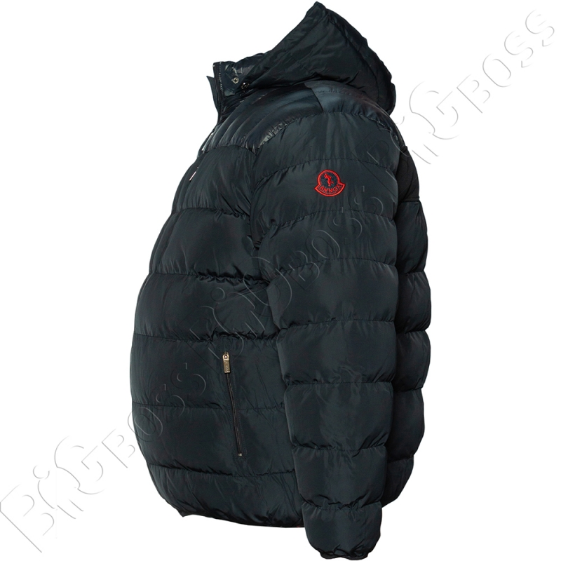 Зимняя куртка тёмно синего цвета Olser 3