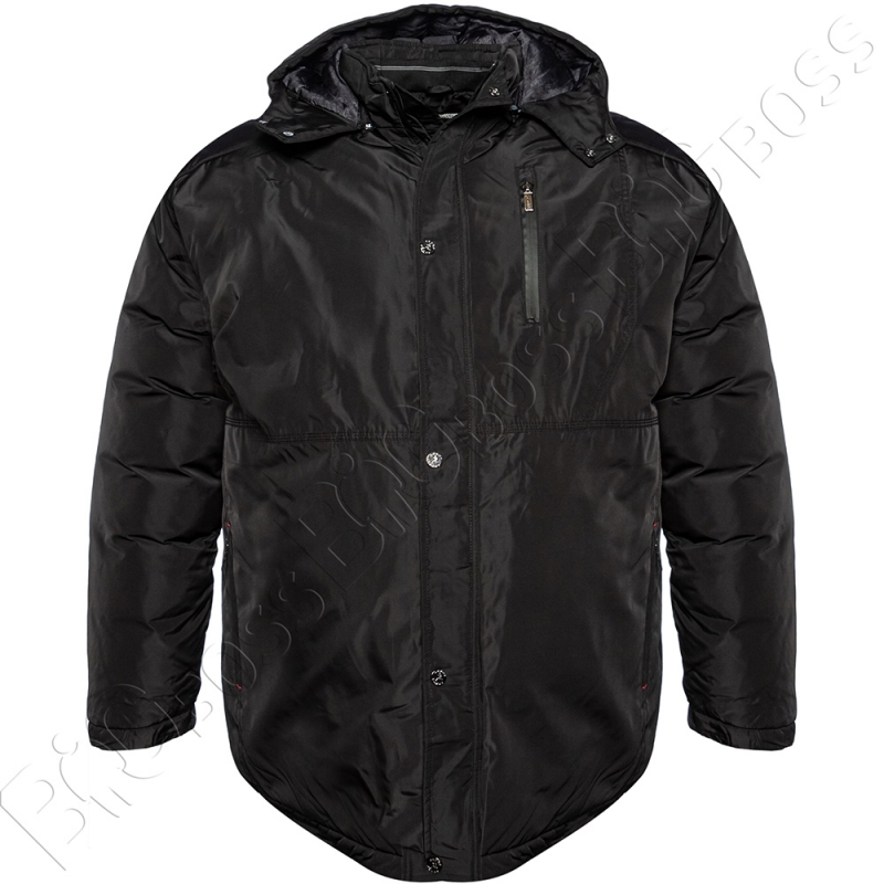 Зимняя куртка прямого кроя чёрного цвета Annex 0