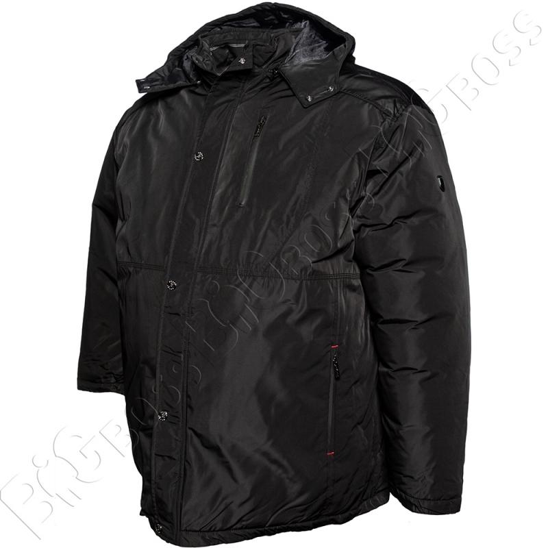 Зимняя куртка прямого кроя чёрного цвета Annex 2