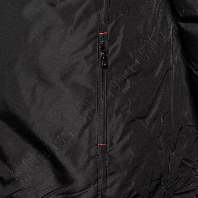 Зимняя куртка прямого кроя чёрного цвета Annex 3