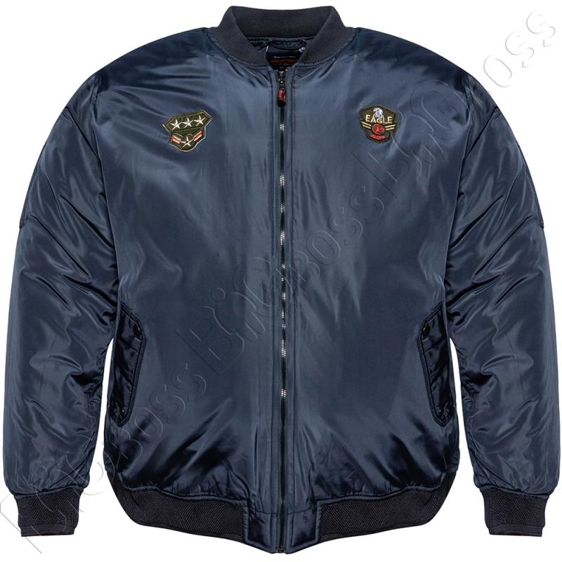 Куртка пилот (еврозима) тёмно синего цвета Grand Chief 0