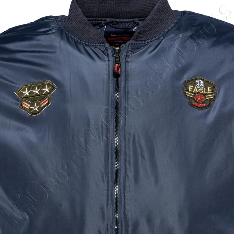 Куртка пилот (еврозима) тёмно синего цвета Grand Chief 1