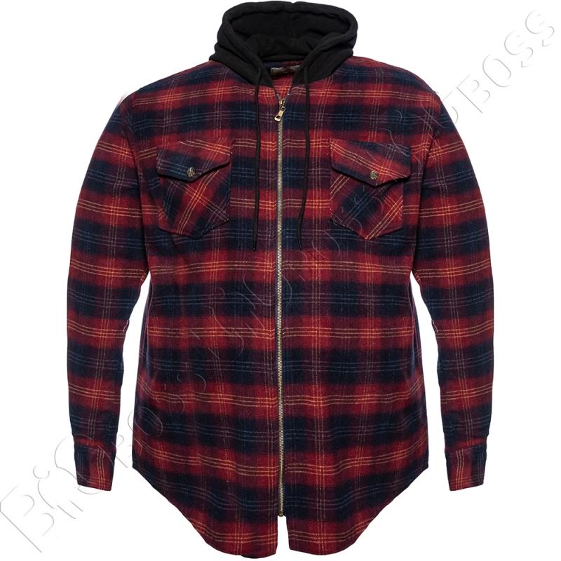 Тёплая рубашка с капюшоном Dekons 0
