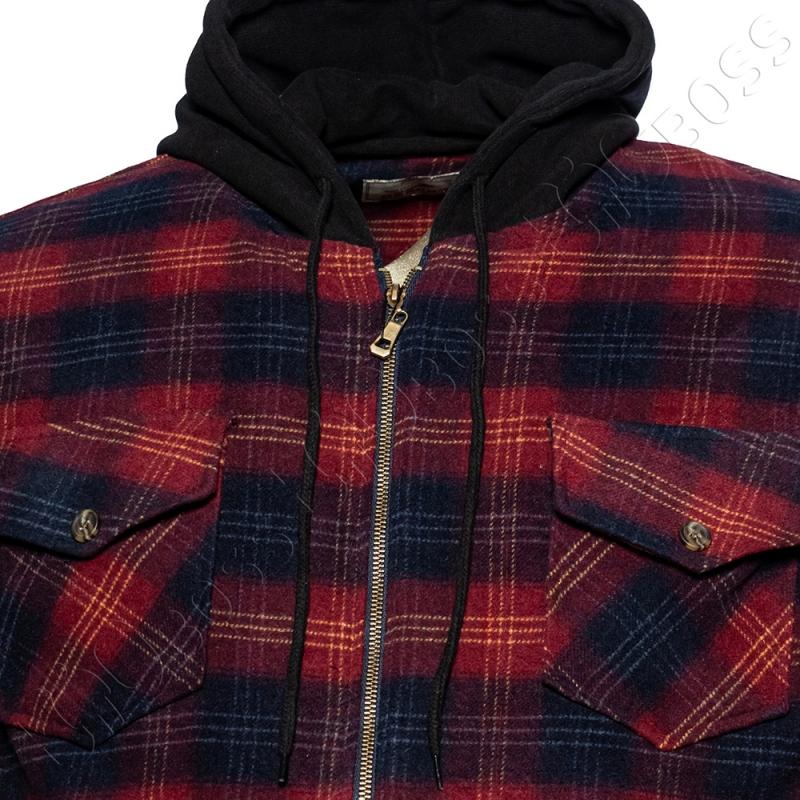 Тёплая рубашка с капюшоном Dekons 1
