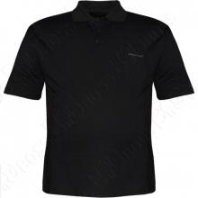 Поло чёрного цвета Borcan Club
