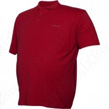 Поло бордового цвета Borcan Club