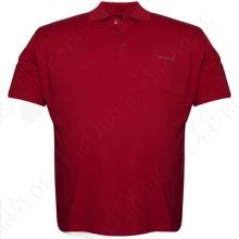 Поло бордового цвета Borcan Club 1