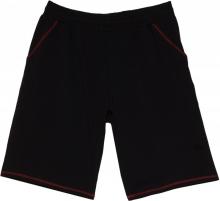 Трикотажные шорты чёрного цвета Big Team
