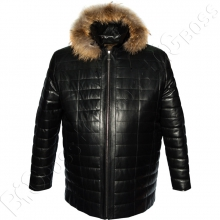 Кожаная куртка Borcan Club
