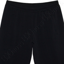 Спортивные штаны чёрного цвета Big Team 1