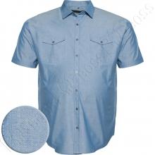 Коттоновая рубашка короткий рукав Big Team