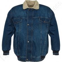 Джинсовая куртка на меху  Dekons