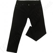 Чёрные осенние джинсы IFC