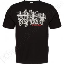 Футболка чёрного цвета Big Team