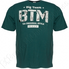 Футболка зелёного цвета 6-9XL Big Team