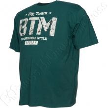 Футболка зелёного цвета 6-9XL Big Team 2
