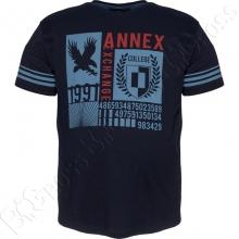 Футболка тёмно синего цвета Annex