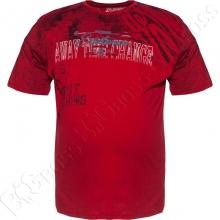 Футболка красного цвета Armstrong