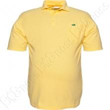 Поло лакоста жёлтого цвета Big Team
