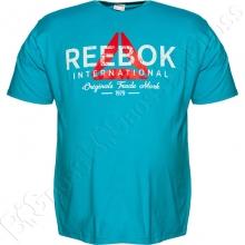 Футболка голубого цвета 6-9 XL Big Team