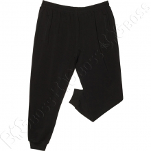 Спортивные штаны на манжете чёрного цвета Annex