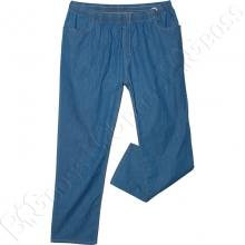 Летние тонкие джинсы на резинке Divest