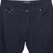 Льняные брюки тёмно синего цвета Dekons 1
