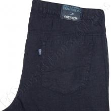 Льняные брюки тёмно синего цвета Dekons 4