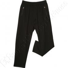 Трикотажные спортивные штаны чёрного цвета Scour