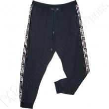 Трикотажные спортивные штаны на манжете Off White