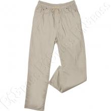 Летние хлопковые штаны серого цвета Miele