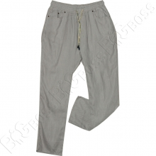 Летние льняные брюки на резинке Miele