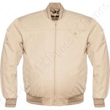 Хлопковая куртка бежевого цвета Dekons
