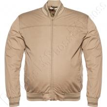 Хлопковая куртка кофейного цвета Dekons