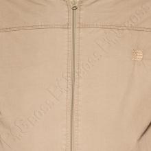 Хлопковая куртка кофейного цвета Dekons 1