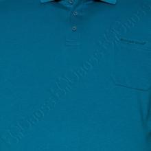 Поло бирюзового цвета Borcan Club 1