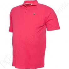 Поло лакоста розового цвета Big Team 2