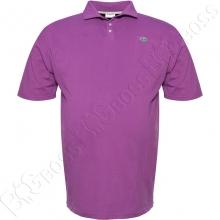Поло лакоста фиолетового цвета Big Team