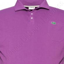 Поло лакоста фиолетового цвета Big Team 1