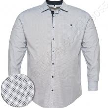 Рубашка белая в декор Big Team