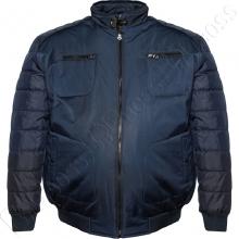 Куртка зимняя синего цвета IFC