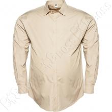 Рубашка бежевого цвета Big Team