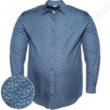 Рубашка в стильный принт Big Team