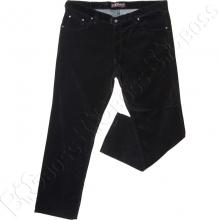 Вельветовые штаны чёрного цвета IFC