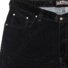Вельветовые штаны чёрного цвета IFC 2