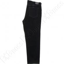 Вельветовые штаны чёрного цвета IFC 3