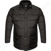 Зимняя куртка чёрного цвета IFC