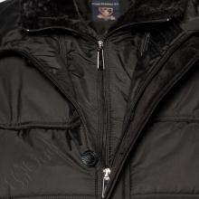 Зимняя куртка чёрного цвета IFC 2