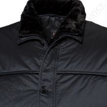 Зимняя куртка тёмно синего цвета IFC 1
