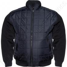 Осенняя куртка с вязанными рукавами Borcan Club